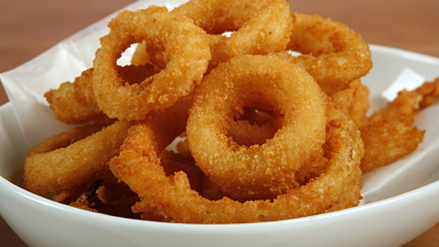 Battered Onion Rings