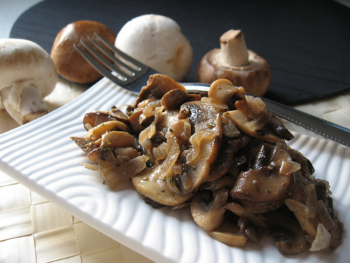 Buttered Mushrooms
