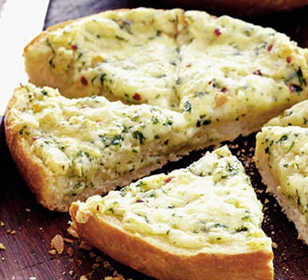 Garlic Bread / with cheese